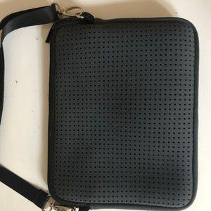 Prene Bags grey crossbody bag